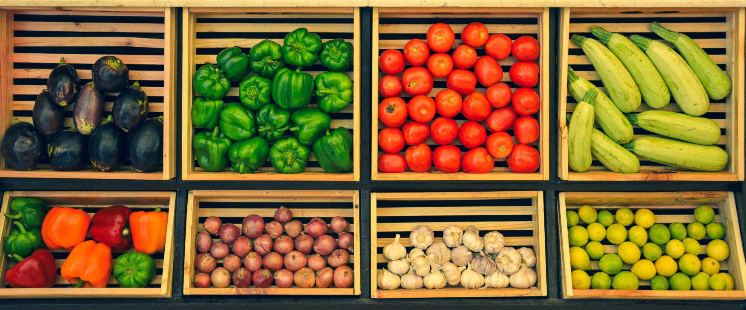 Estanteria verduras
